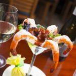Shrimp and Wine